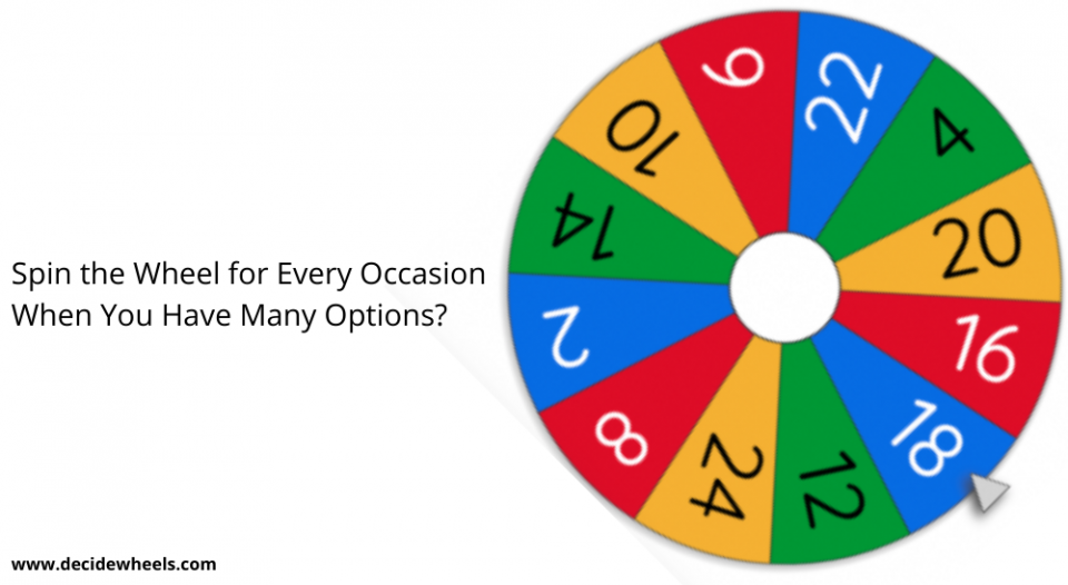 wheel decide