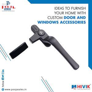 aluminium window accessories
