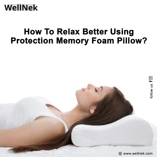protection memory foam pillows