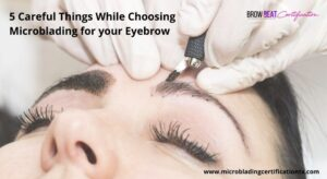 eyebrow microblading training