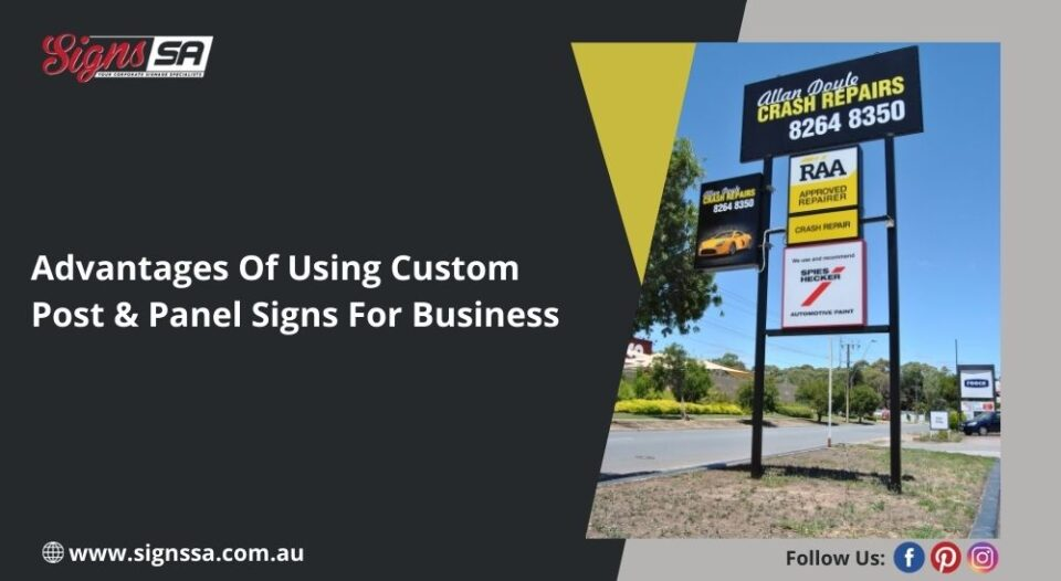 Post and Panel Signs
